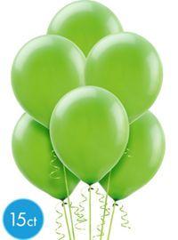 Confetti Kiwi Green Birthday Balloons - Party City