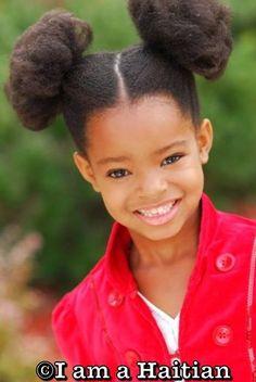 Natural Hair, African-American Hair, Cute Kids