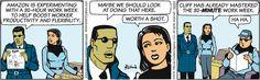 Brewster Rockit Comic Strip, October 01, 2016     on GoComics.com