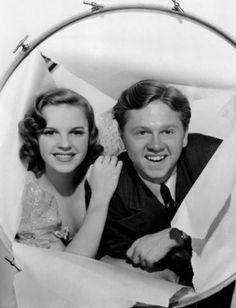 Judy Garland And Mickey Rooney.........