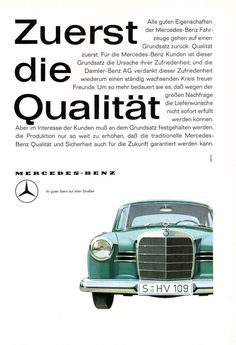 #Mercedes #automotive #60s