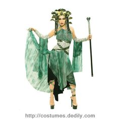 Holloween Costume Mystic Medusa.  Like it?  Repin!