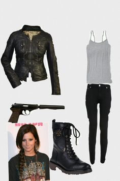 style dress for girl zombie Zombie Apocalypse Outfit, Apocalypse Fashion, Zombie Apocalypse Survival, Spy Outfit, Badass Outfit, Camping Attire, Post Apocalyptic Fashion, Disney Inspired Outfits, Fashion Dresses