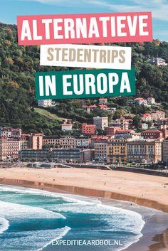 Ben je op zoek naar een onbekende bestemming voor een stedentrip of weekendje weg? Bekijk hier de leukste plekken voor een originele stedentrip in Europa. Travel Around The World, Around The Worlds, Reisen In Europa, Europe Destinations, Portugal, Family Life, Continents, The Good Place, Travel Inspiration