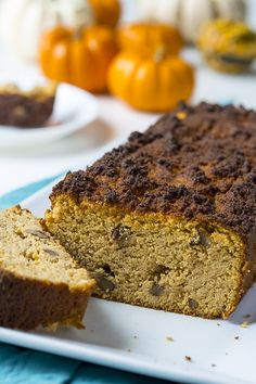 A keto bread recipe that's delightfully seasonal! The fun flavors of pumpkin spice and walnut bring a new twist to your Fall breakfasts - and so healthy too! First Bread Recipe, Lowest Carb Bread Recipe, Low Carb Bread, Keto Bread, Low Carb Diet, Sugar Free Desserts, Low Carb Desserts, Low Carb Recipes, Bread Recipes