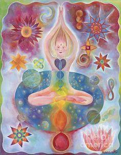 Cosmic Flower by Manami Lingerfelt