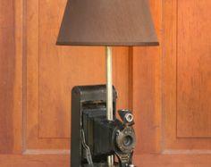 Kodak 2A Autographic Camera Table Lamp