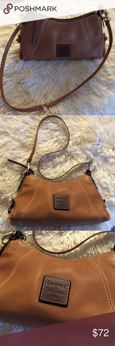 "💞DOONEY BOURKE 💞leather cross body purse Preowned in very good condition, with small show of wearing , measurements :11,5""/6""/4""/ with spears 24"" Dooney & Bourke Bags Crossbody Bags"