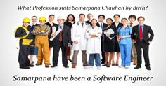 Check my results of Profession suits you by Birth? Facebook Fun App by clicking Visit Site button