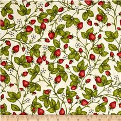 Maywood Studio From The Farm Fresh Strawberries Natural