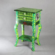 Spring Dew Cabinet by ArtPoPo on Etsy