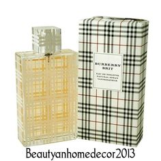 Burberry Brit by Burberry 3.4 oz / 100 ml EDT Spray for Women New in Box…