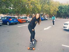 #skatelife  longboarding on campus