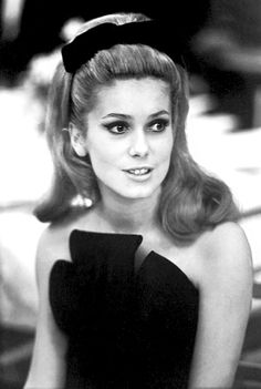 Catherine Deneuve In Paris, 1962.