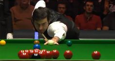 Snooker, my love: (The) Ronnie, the snooker and the telly