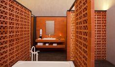 Downtown Mexico Interior Design Bathroom