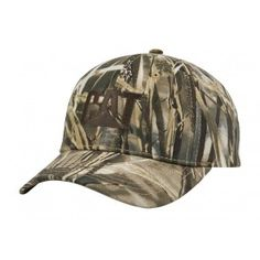 Realtree Max 4 Camo/Brn Cap #caterpillar #heavyequipment #construction #catapparel #camo #hat #forsale #men #women