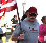 John Pyle Sarasota, FL. an inspiration for all...running to raise money for the wounded warrior project. read more...