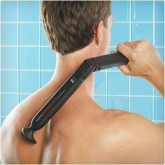 Electric Back Hair Shaver - for the hairy man in your life :-)