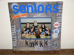 This is my dd and the other senior girls that were on the varsity volleyball team. Volleyball Senior Gifts, Senior Night Gifts, Senior Day, Volleyball Quotes, Volleyball Team, Senior Girls, Softball, Diy For Girls, Gifts For Girls