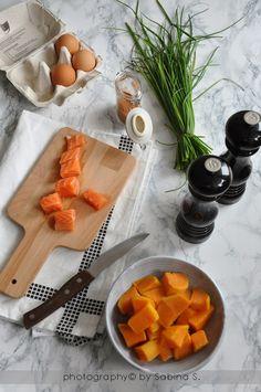 Due bionde in cucina: Polpettine di salmone e patate dolci