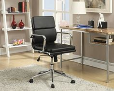 Coaster 800838 Home Furnishings Office Chair, Black