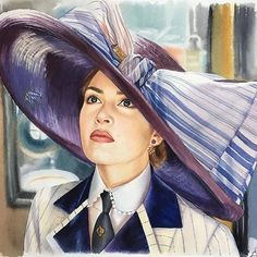 Titanic Film, Titanic Art, Titanic History, Rms Titanic, Titanic Kate Winslet, Amazing Drawings, Cool Art Drawings, Horse Drawings, Titanic Drawing