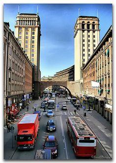Kungsgatan/Stockholm  Sweden