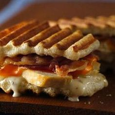 Ranch Chicken and Bacon Panini - Refrigerated dough, 1/4 Cup Ranch ...