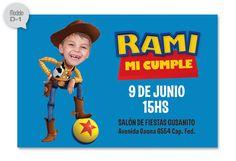 invitaciones personalizadas de Toy story D1                                                                                                                                                     Más