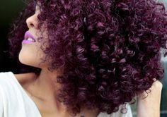 Cabelo ROXO com violeta genciana: Como fazer?