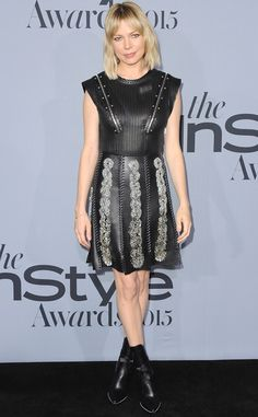 Michelle Williams from Stars at the 2015 InStyle Awards | E! Online