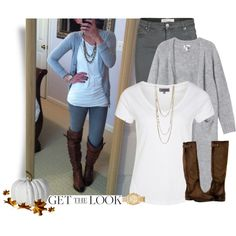 """""""Get the Look: Fall Outfit"""" by cindycook10 on Polyvore"""