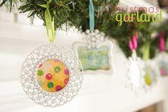 Christmas Garland by @Linda {Craftaholics Anonymous®}