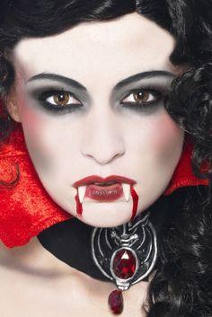Vampir schminken