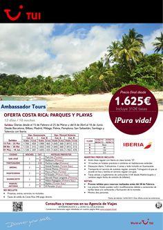 Oferta Costa Rica:Parques y Playas. 12 días/10 noches. Del 15Feb al 18Jun. Precio final desde 1.625€ ultimo minuto - http://zocotours.com/oferta-costa-ricaparques-y-playas-12-dias10-noches-del-15feb-al-18jun-precio-final-desde-1-625e-ultimo-minuto/