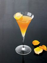 Fall Leaf Fizz Cocktail - Grey Goose La Poire Vodka