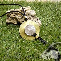 Μακρύ χειροποίητο κολιέ ασημί-χρυσό από αλπακα και ορείχαλκο Texture, Crafts, Surface Finish, Manualidades, Handmade Crafts, Craft, Arts And Crafts, Artesanato, Handicraft