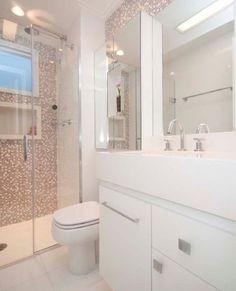 Another bathroom idea. House Bathroom, Bathroom Interior, Small Bathroom, Bathrooms Remodel, Bathroom Decor, Home Design Decor, Bathroom Design, Bathroom Renovations, Home N Decor