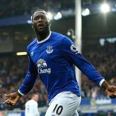 """Chelsea legend Didier Drogba has suggested Everton striker Romelu Lukaku """"wants to prove"""" himself at Stamford Bridge and could return to his former club this summer in a bid to clear up unfinished business. Everton, Premier League, Stamford Bridge, Scores, Chef Jackets, Chelsea, Success, Shit Happens, Tops"""