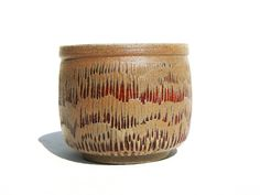 White stoneware carved Yunomi teabowl