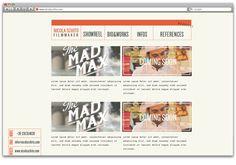 Nicola Schito — Filmmaker Brand Identity by Otto Climan, via Behance