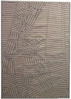 Debra Smith, Restructured, Series #3 2014, Pieced vintage kimono silks & men's suit lining