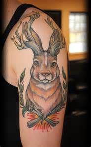 Jackalope Tattoo Meaning : jackalope, tattoo, meaning, Jackalope, Tattoos