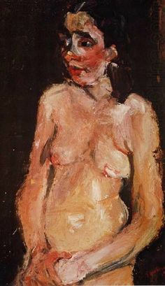 Classic Paintings, Contemporary Paintings, Figure Painting, Painting & Drawing, Chaim Soutine, Art Aquarelle, Jewish Art, Art Moderne, Russian Art