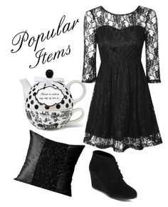 """""""Popular items"""" by potato-swan77 ❤ liked on Polyvore featuring True Decadence, Arizona, women's clothing, women, female, woman, misses and juniors"""