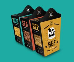 PIRATE / Food & Drink (Student project) on Behance