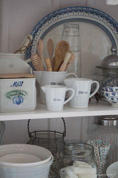 Sommarbacka Scandinavian Cottage, Country Cupboard, My Photos, Dreams, Mugs, Tableware, Kitchen, Blog, Beautiful