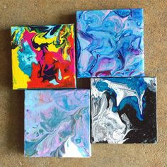 Acrylic Pouring, Moose Art, Abstract Art, Wall, Artwork, Instagram Posts, Animals, Inspiration, Ideas