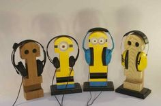 Headphone Holders - A fun and creative parent/child project